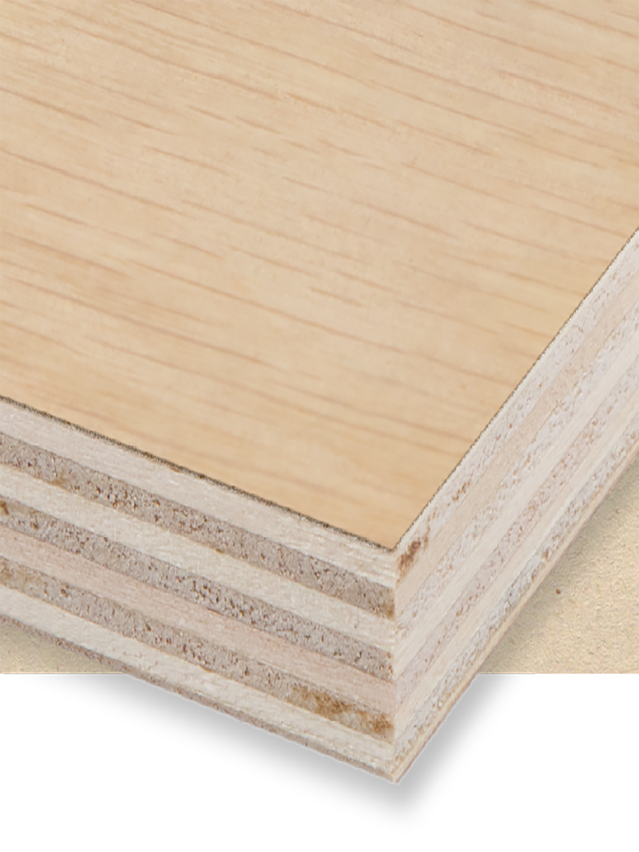 Veneered Poplar Plywood E1