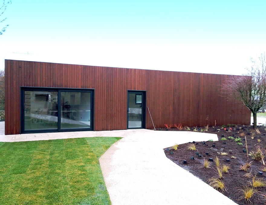 Private House: Thermally Modified Lumber Cladding