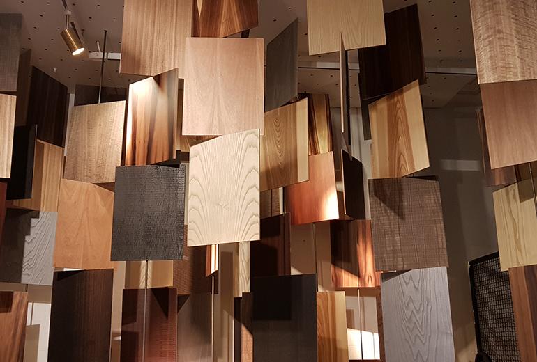Losán contribuye al protagonismo de la madera en Casa Decor