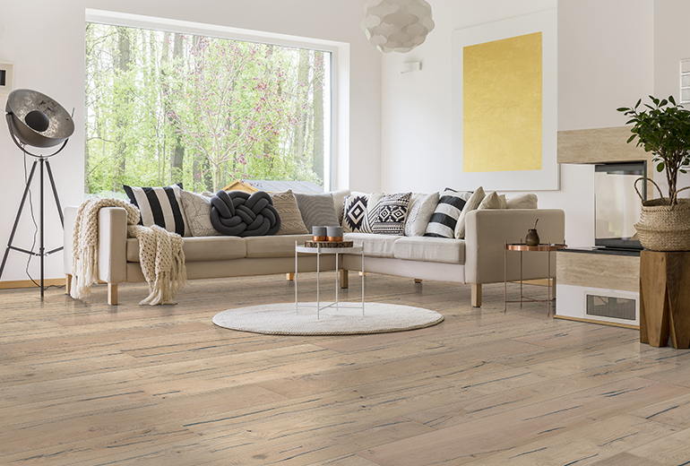 Losán launches its own flooring brand: Step & Wall