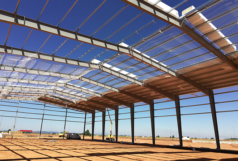 Losán's newest facility  in Zamora, Spain, continues on schedule.